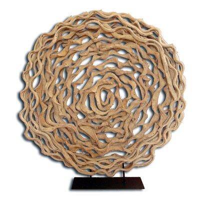 "Monkey Ladder Tropical Vine Sculpture Size: 38"" H X 32"" W X 5"" D"