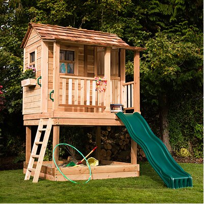 OUTDOOR LIVING TODAY Little Squirt Playhouse with Sandbox at Sears.com
