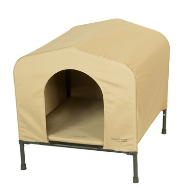 PortablePET Fabric and Steel Collapsible Yard Kennel Dog House Size: Large (29.5H x 28W x 33L)