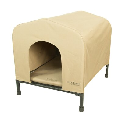 PortablePET Fabric and Steel Collapsible Yard Kennel Dog House Size: Medium (24H x 23W x 24.5L)