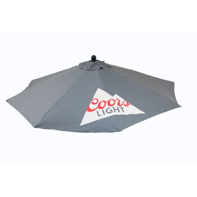 9 Coors Light Market Umbrella
