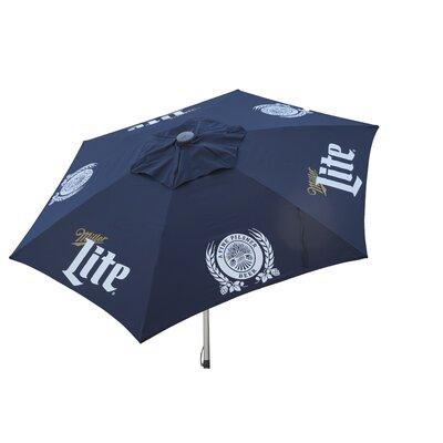 8.5 Miller Lite Push-Up Market Umbrella
