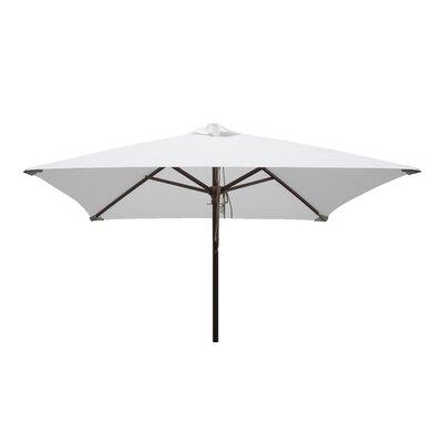 Destination Gear 6.5 ft. Classic Wood Square Market Umbrella Color: Natural