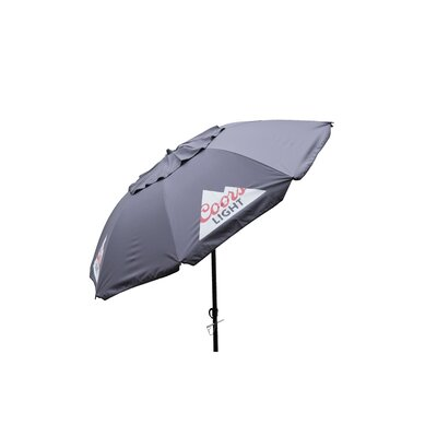 7 Coors Light Beach Market Umbrella