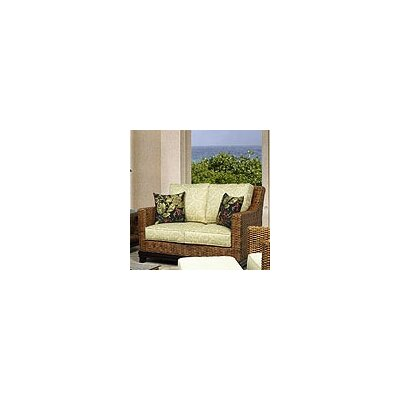 Biscayne Leather Loveseat Upholstery: 491