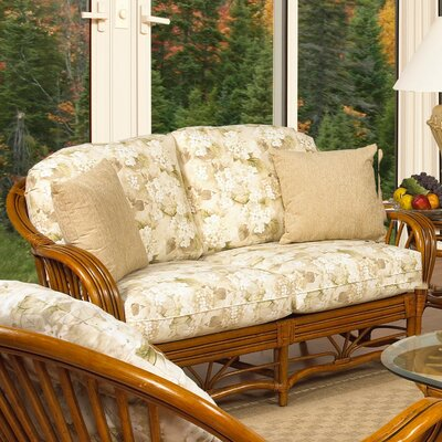 Antigua Leather Loveseat Upholstery: 633