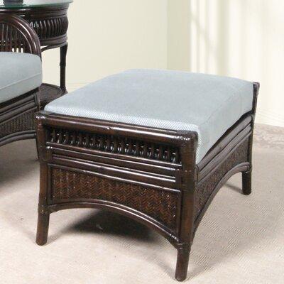 Arria Leather Ottoman