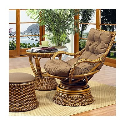 Biscayne Woven Rattan Chair Color: 599
