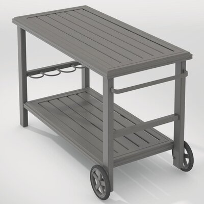 Banchetto Bar Serving Cart Finish: Woodland