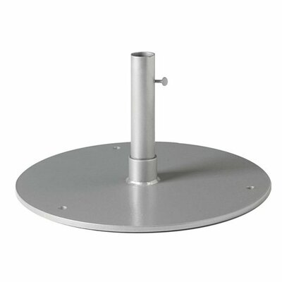 Steel Plate Umbrella Base Finish: Snow