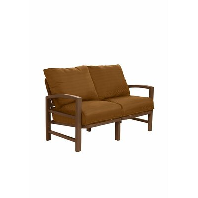 Lakeside Loveseat with Cushions 730514_GPH_Cayenne