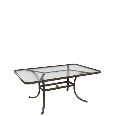 Umbrella Dining Table Finish: Graphite