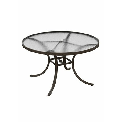Umbrella Dining Table Finish: Snow