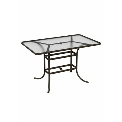 Umbrella Bar Table Finish: Graphite