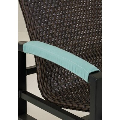 Dining Chair Armrest Cover Color: Cascade
