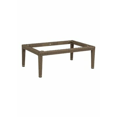 Evo Woven Coffee Table Base Finish: Latte