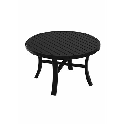 Banchetto Chat Table Finish: Obsidian