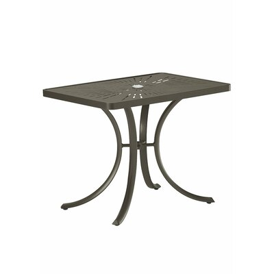 La'Stratta Dining Table Finish: Mocha