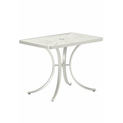 La'Stratta Dining Table Finish: Shell