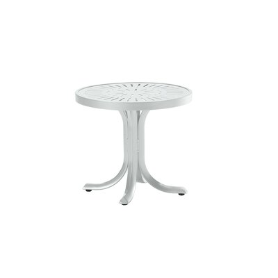 La'Stratta Side Table Finish: Snow
