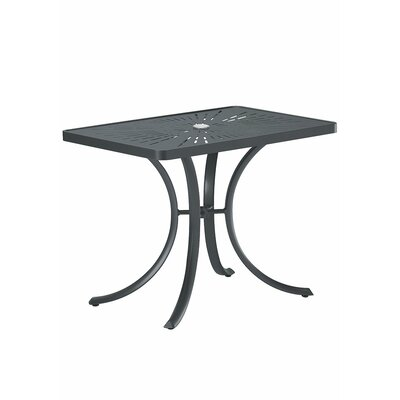 La'Stratta Dining Table Finish: Graphite