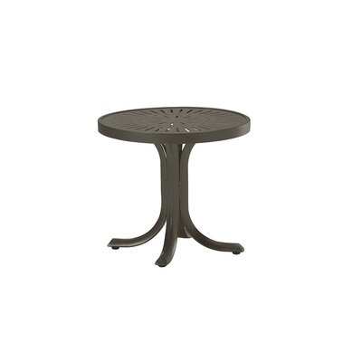 LaStratta Side Table Finish: Mocha