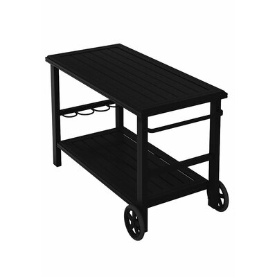 Banchetto Bar Serving Cart Finish: Obsidian