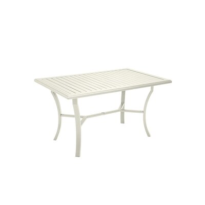 Banchetto Dining Table Finish: Parchment