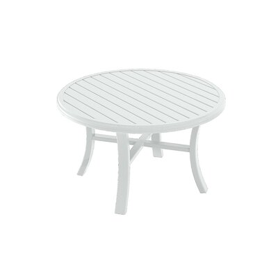 Banchetto Chat Table Finish: Snow