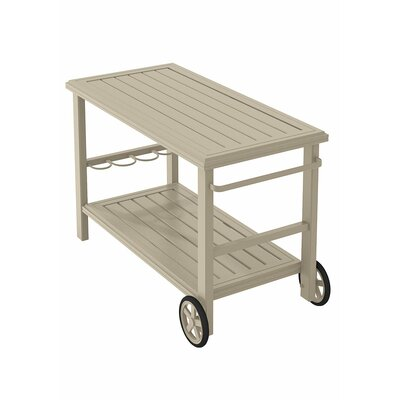 Banchetto Bar Serving Cart Finish: Sonora