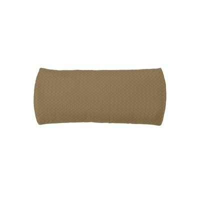 Chaise Headrest Outdoor Bolster Lumbar Cushion Color: Cardamon