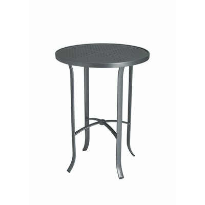 Boulevard Bar Table Finish: Aluminum