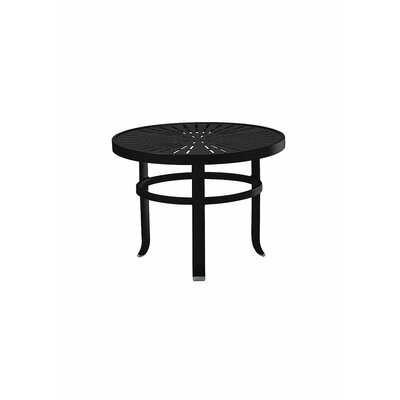 LaStratta Side Table Finish: Obsidian