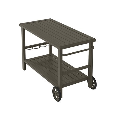 Banchetto Bar Serving Cart Finish: Mocha