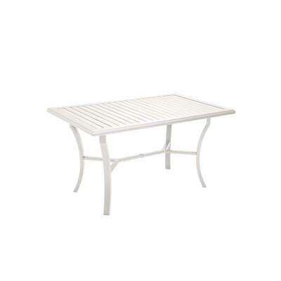 Banchetto Dining Table Finish: Shell