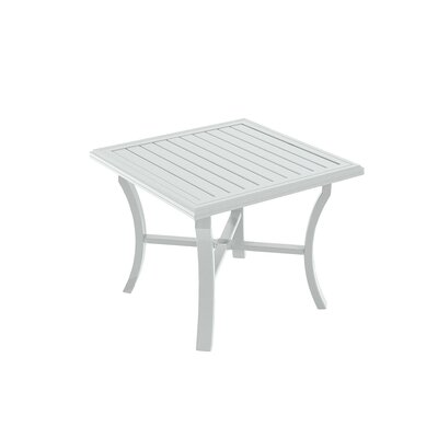 Banchetto Dining Table Finish: Snow