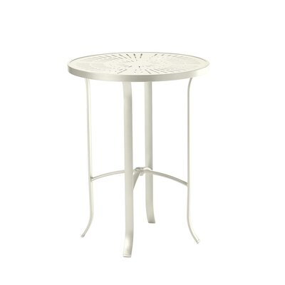 LaStratta Bar Table Finish: Parchment
