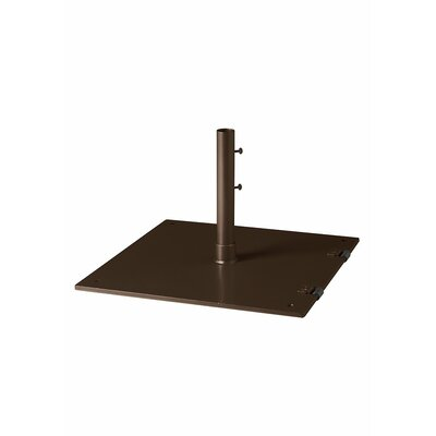 Free Standing Steel Plate Umbrella Base Finish: Greco