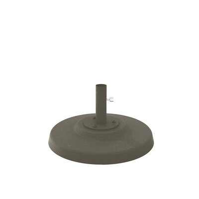 Cement Filled Aluminum Umbrella Base Finish: Mocha