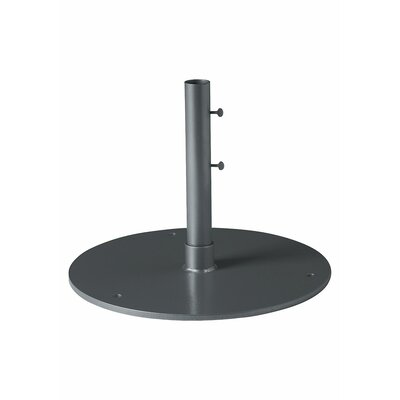 Free Standing Steel Plate Umbrella Base Finish: Graphite