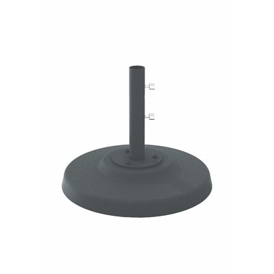 Cement Filled Aluminum Umbrella Base Finish: Graphite