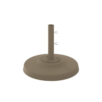 Cement Filled Aluminum Umbrella Base Finish: Moab