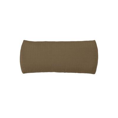 Chaise Headrest Bolster Pillow Fabric: Havana