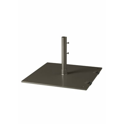 Free Standing Steel Plate Umbrella Base Finish: Mocha