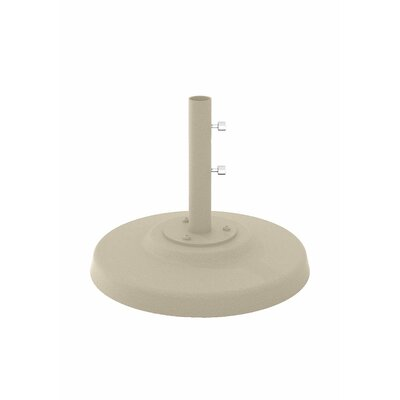 Cement Filled Aluminum Umbrella Base Finish: Sonora