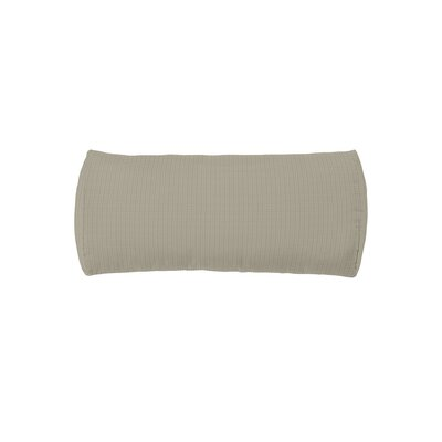 Chaise Headrest Bolster Pillow Fabric: Sparkling Water