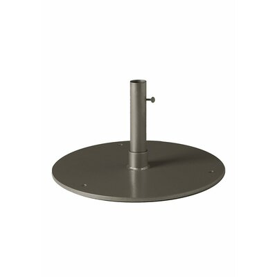 Steel Plate Umbrella Base Finish: Mocha
