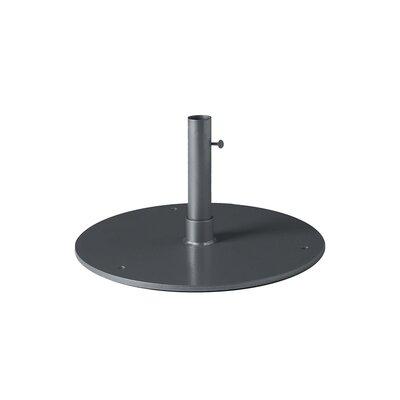 Steel Plate Umbrella Base Finish: Graphite