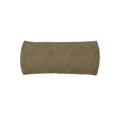 Chaise Headrest Outdoor Bolster Lumbar Cushion Color: Tarragon