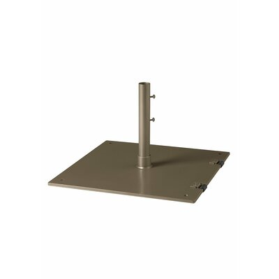 Steel Plate Umbrella Base Finish: Moab